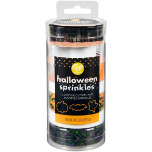 Strössel med Utstickare Kit Halloween- Wilton